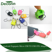 Micro USB To USB 2.0 OTG Adapter Connector for Android Micro USB SmartPhone Tablet