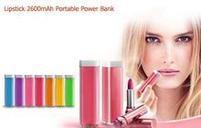 2600mAh Top Selling Gadget Power Bank/Portable Mobile Power Pack