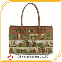 guangzhou new design fashion exporter handbag,lady elegant xhoulder bag 2014