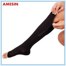Foot Care Compression Stocking Zip Compression Socks Slimming Leg