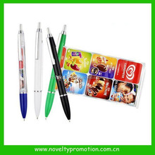 Fullcolor Imprint Slogan Banner Pen