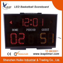 New design LED portable basketball scoreboard