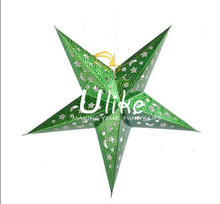 New product star shape paper hanging decor See larger image Lantern festival decoration