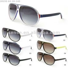 Personal Stylish Big Acetate Round Frame Sunglasses