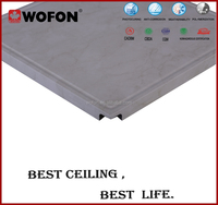 2015 Fashionable waterproof bathroom ceiling panels,2015 hot sell high power 12w open cell ceiling