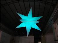 CILE 2015 latest LED light inflatable stars for wedding decoration