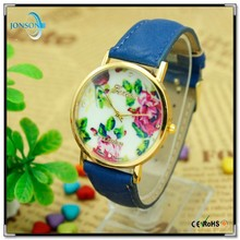 Hot selling ladies fashion colorful fast shipping leather watch storage cases