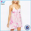 Yihao 2016 Ladies New Designs Girls Summer Pink Sexy Fashion Dress Party Wear Western Casual Women Short Dresses Clothes 2015