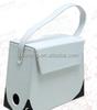 wholesale wine display bag, white handle wine carrier