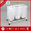 PVC mesh foldable mesh laundry basket