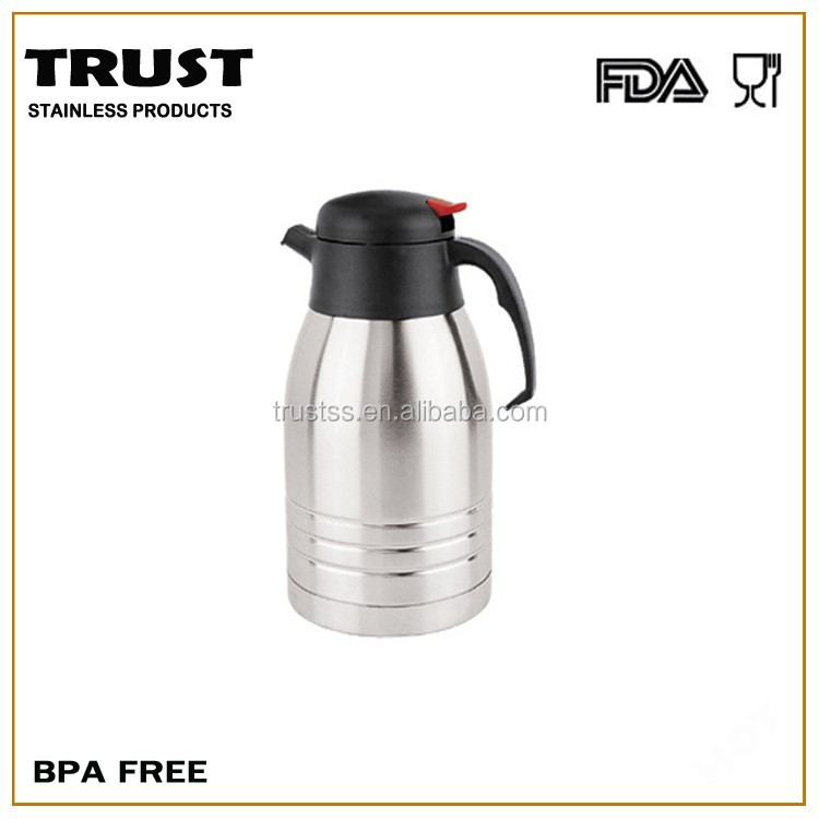 Vacuum Coffee Maker Metal : Double Wall Stainless Steel Vacuum Coffee Pot Thermos Flasks Bpa Free - Buy Coffee Pot,Thermos ...
