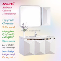 ROCH 8008 New Model China Factory Eco-friendly Bathroom Cabinet
