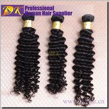 Raw human unprocessed virgin hair eurasian deep wave virgin hair