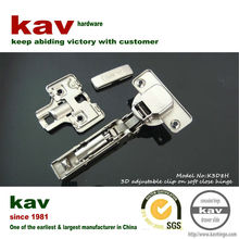 invisible wooden door hinge with 3D function and hydraulic cylinder