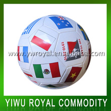 Professional World Cup National Flag Soccer Ball