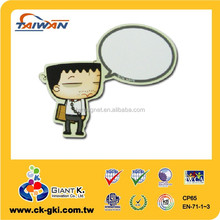 magnetic memo board paper fridge magnet promotional giveaways