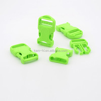 Plastic material custom shape affordable price bib overall buckles