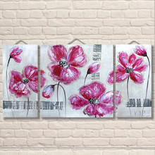 Buy bulk decor pictures for fabric painting flower