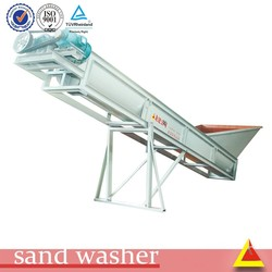 construction material 20-80t/h screw sand washing machine price with 7.5kw