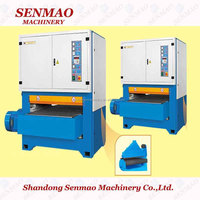 two heads single side sander for Wood floor/ plywood making line/ plywood production line from SENMAO