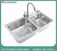 best grade silver welding kran wastafel S783A