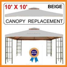 TM-GS002 hot sale metal gazebo with mesh or sidewalls