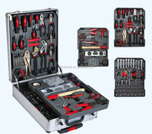 promotional items tool set 186 pieces aluminium hand tools sets / trolley tool set