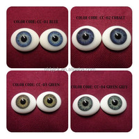 """1/4"""" animal glass eyes for carvings crafts eyes for dolls glass"""