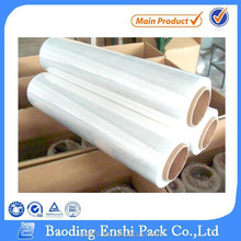 100% raw material pe handle stretch wrap