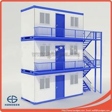 Flatpack cheap 20ft intermodal shipping container home for living house or container office
