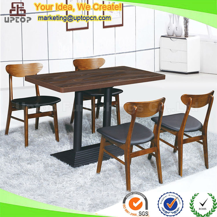 SP-CT644) Dubai wooden restaurant cheap dining tables and chairs sets