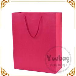 Recycled wholesale cheap printed popular hand paper bag made in China