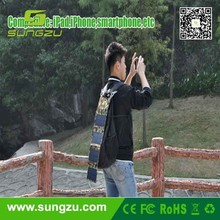 Foldable solar bag, portable solar bag charger , 5watt/8watt/15watt solar panel charger