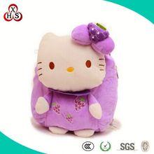 OEM Cute Soft Plush Pig Backpack