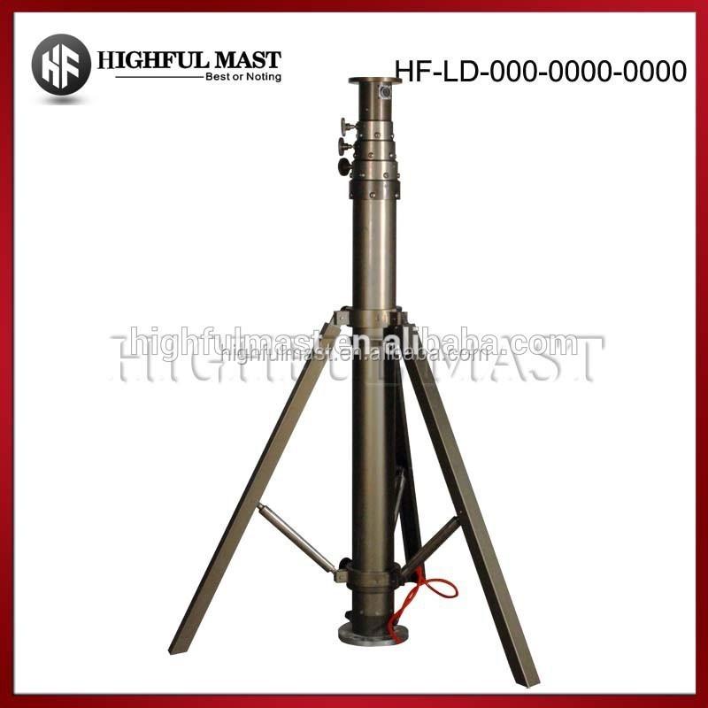 Portable Telescopic Light Tower: Wholesale 2015 Hot Sale Telescoping Mast Light Tower