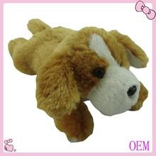 Custom design stuffed plush dog toys stuffed animal toys 2015