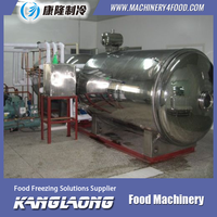 Large Capacity machine for freeze dried strawberry powder