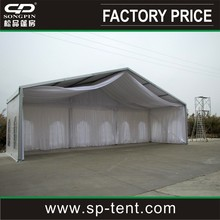 10x30m outdoor decorated party tent with window walls