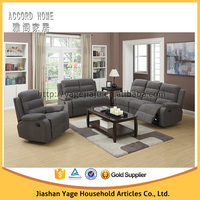 Living Room Furniture reclining leather sofa