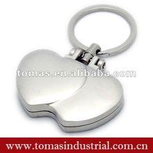 Hot design waterproof magnetic photo frame key chain
