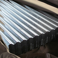 SGCC prime quality 28 gauge curve gi corrugated metal roofing sheet
