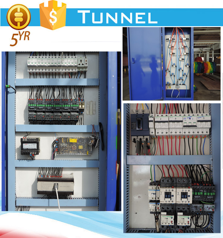 Japan Omron PLC tunnel type automatic car wash machine