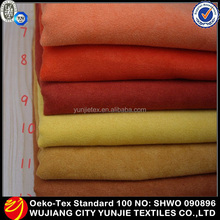 High Quality Customized Microfiber Polyester Suede Baby Car Seat Fabric