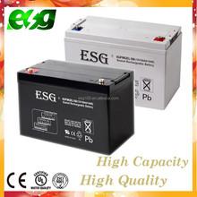 Sealed lead acid battery Solar battery 12V 100AH gel battery