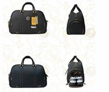 Helix Luxury genuine leather golf shoe bag