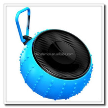 Round Music Mini Wireless Portable Waterproof Bluetooth Speaker/colorful speaker