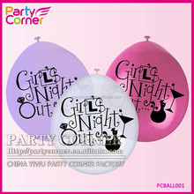 Cheap Girls Night Out Ballons For Bachelorette Wedding Accessory