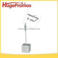 High Quality Custom Metal Memo Clip Holder