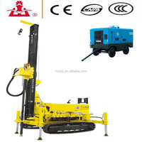 Water well rotary drilling machine 120m Drilling depth