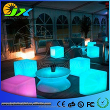 Portable Waterproof Led Ice Led Cube Table RGB Clor Changing